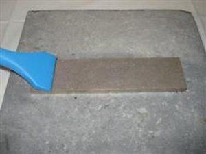 Plaquettes diamantées d'affûtage pour les outils au carbure