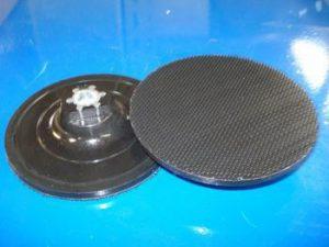Support velcro Ø 115 mm Ordinaire noir