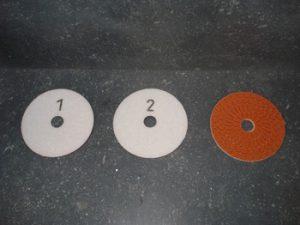 Disque velcro PRO résine diamantée Ø 100 mm pour polissage de sol