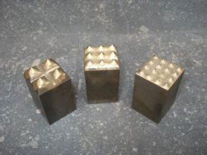Plaquettes boucharde carbure section 20