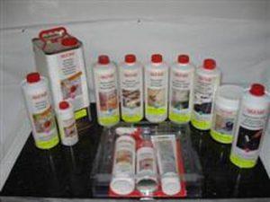Gamme complète des produits de nettoyage et d'entretient AKEMI