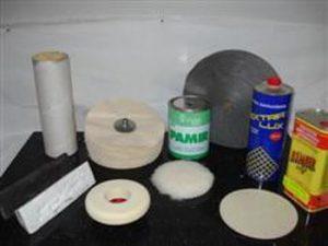 Produits divers pour le polissage