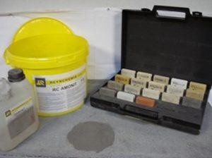 Mortier minéral de restauration pour Pierre naturelle (AMONIT)