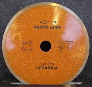Disques diamantés type CERPRO céramique jante continue