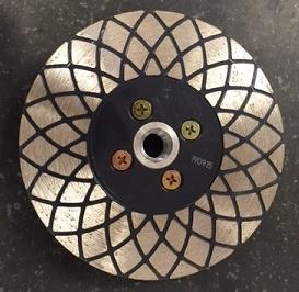 Disque diamanté type TS 125 surfaçage Granit / Beton / pierre-bleue