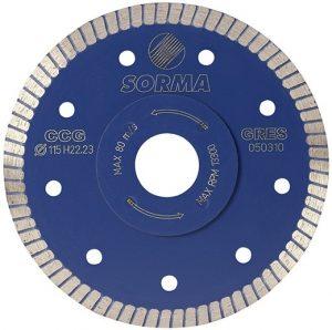 Disque diamanté type CCG Ø 125 mm carrelage épaisseur 1,2 mm