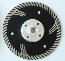 Disque diamanté Ø 230 mm type PANTHER Pierre-naturelle / Matériaux de construction + M14