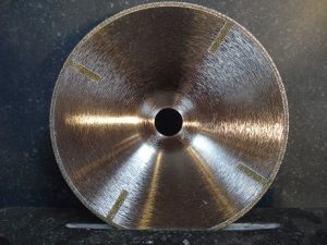 Disques diamantés galvano type Assiette (Ø 125 et Ø 180 mm ) pour Pierres calcaires