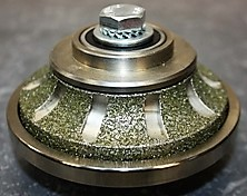 Meule diamantée type Bec de Corbin