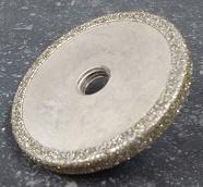 Meule diamantée pour Goutte d'eau Ø 75×8 mm M14