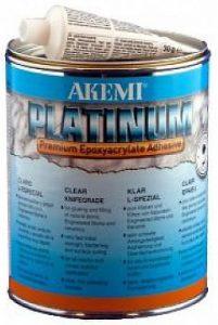 Boite de colle AKEMI PLATINUM Epoxyacrylate Transparent L-Spécial (gel)