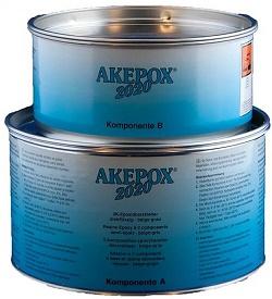 Boite de colle AKEPOX 2020 (a+b) 3 Kg Gris-Beige semi-épaisse