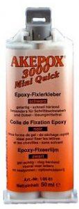 Cartouche de colle AKEPOX mini-quick 3000 50 ml