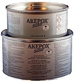 Boite de colle AKEPOX 5010 (a+b) 2.25 Kg Transparent
