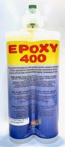 Cartouche de colle EPOXY 400 transparent 400 ml